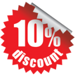 10 Percent Discount