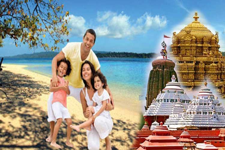 Chennai to Port Blair to Odisha Tour
